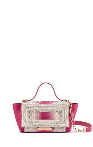 luisa-mini-python-fuxia-white-handbag-badura-A